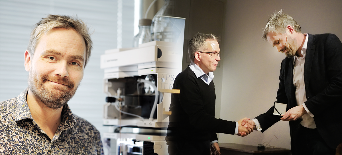 Vice Platform Director Anders Nordström Awarded for Research in Metabolomics